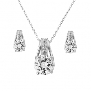 CRYSTAL GRACE NECKLACE SET
