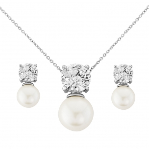 ELEGANCE PEARL NECKLACE SET